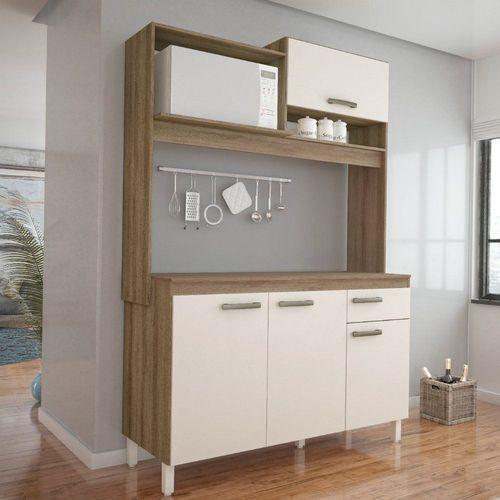 Cozinha Compacta Yasmin com 4 Portas e 1 Gaveta