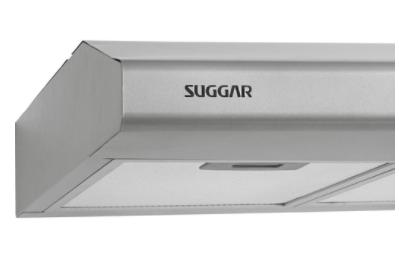 Depurador Suggar Slim 0.80 Prata