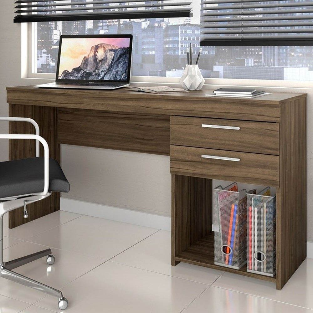 Escrivaninha Notável Office Nogal Trend