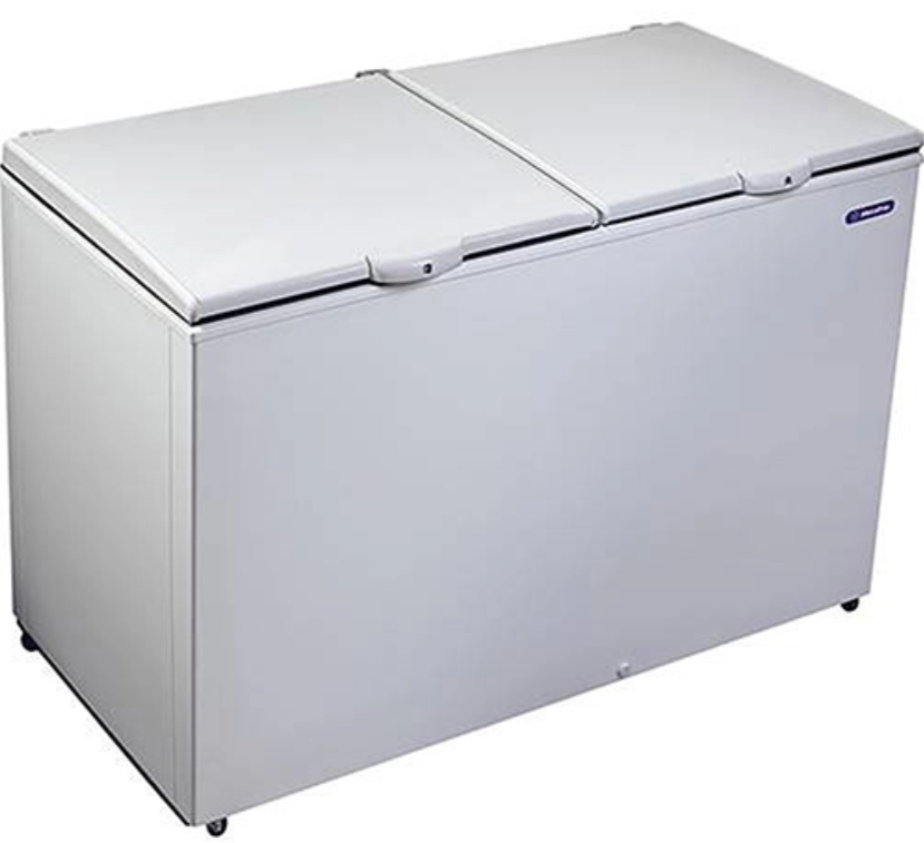 Freezer Horizontal MetalFrio 419L DA420 Branco	 220V