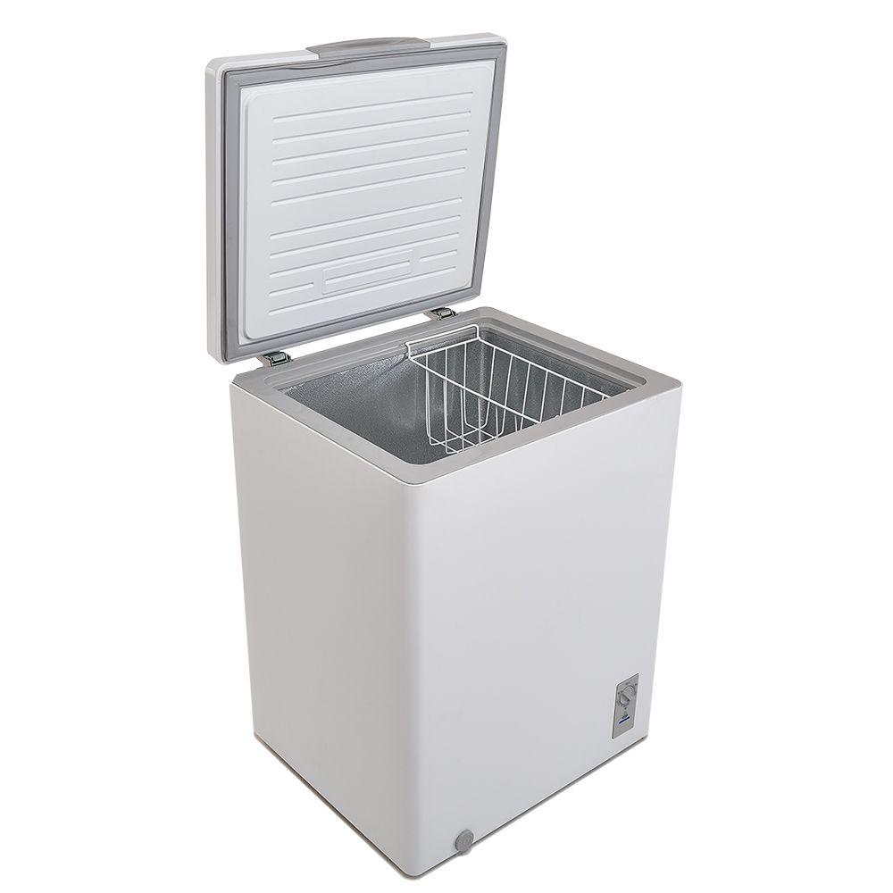 Freezer Midea 150L Horizontal 01 Tampa RCFA12 Branco 220volts