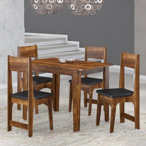Mesa Com 4 Cadeiras Sonetto Nicoli