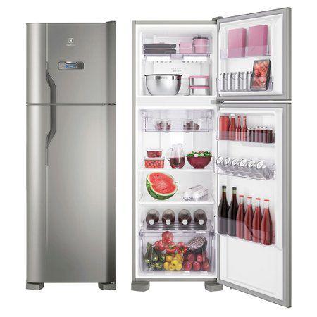Refrigerador Electrolux Frost Free DFX 41 Inox 220V
