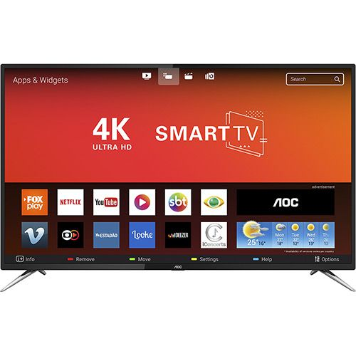 Smart TV 50'' AOC Le50u7970s 4K
