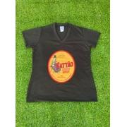 Camiseta Preta Pattão Feminina