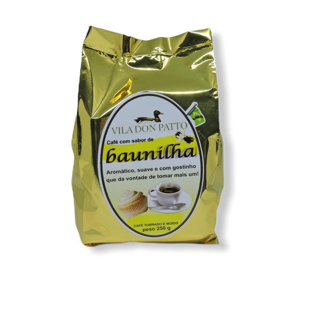 Café Saborizado Baunilha 250g  - Empório Don Patto