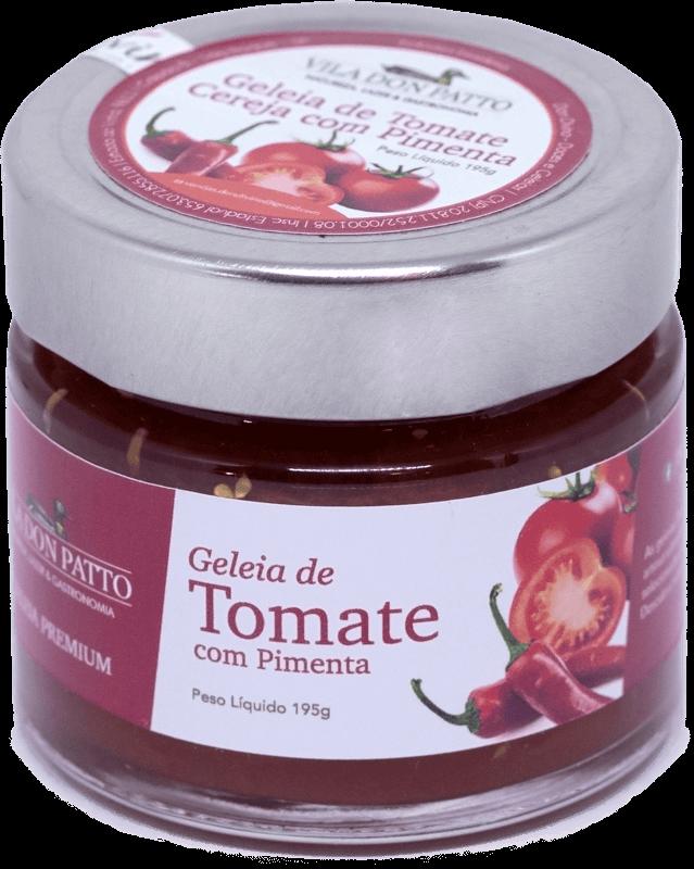 Geleia Premium de Tomate com Pimenta Vila don Patto  195g  - Empório Don Patto