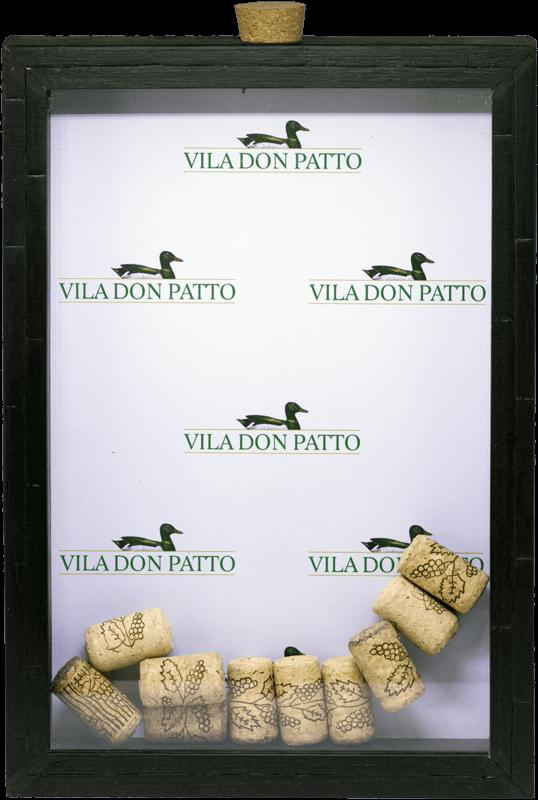 Quadro de Rolhas Vila don Patto  - Empório Don Patto