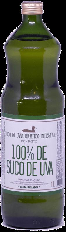Suco de Uva Branco Integral Don Patto 1 litro  - Empório Don Patto