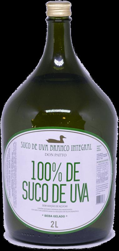 Suco de Uva Branco Integral Don Patto 2 litros  - Empório Don Patto