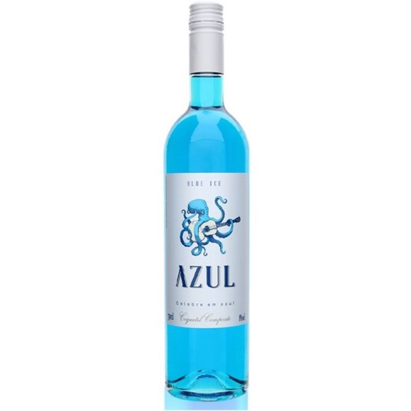 Vinho Azul Blue Ice 750ml  - Empório Don Patto