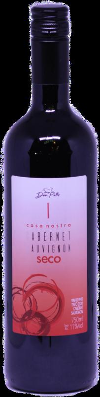 Vinho Casa Nostra Cabernet Sauvignon Seco 750ml  - Empório Don Patto