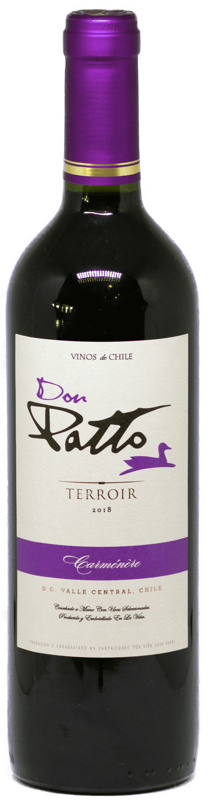 Vinho Chileno Don Patto Terroir Carmenere 2019  - Empório Don Patto