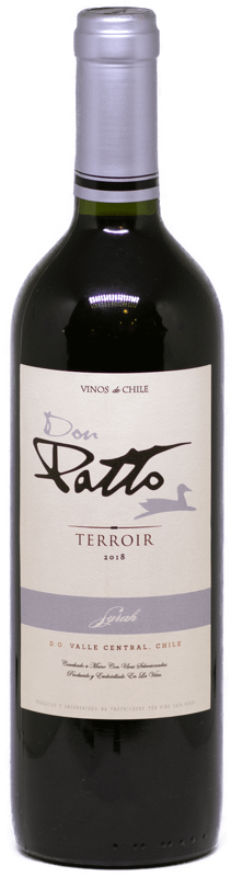 Vinho Chileno Don Patto Terroir Syrah 2019  - Empório Don Patto