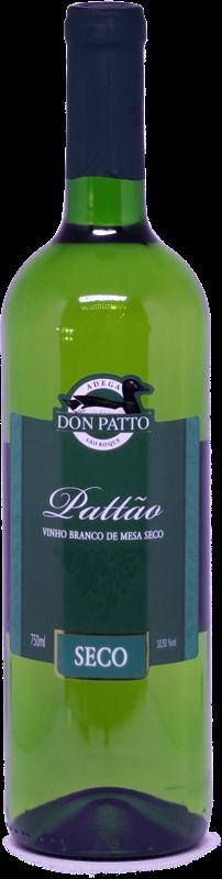 Vinho Pattão Branco de Mesa Seco 750ml  - Empório Don Patto