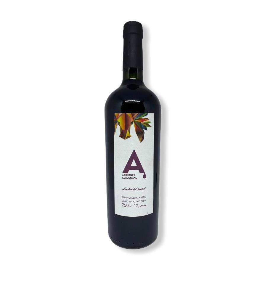 Vinho Tinto Seco Fino Cabernet Sauvignon A 750ml.  - Empório Don Patto