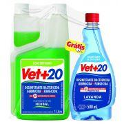 Desinfetante Bactericida Herbal 1 Litro Vet+20