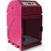 Máquina de Secar Animais Compacta Rosa