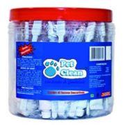 Pote de Escovas Pet Clean c/ 40 kits