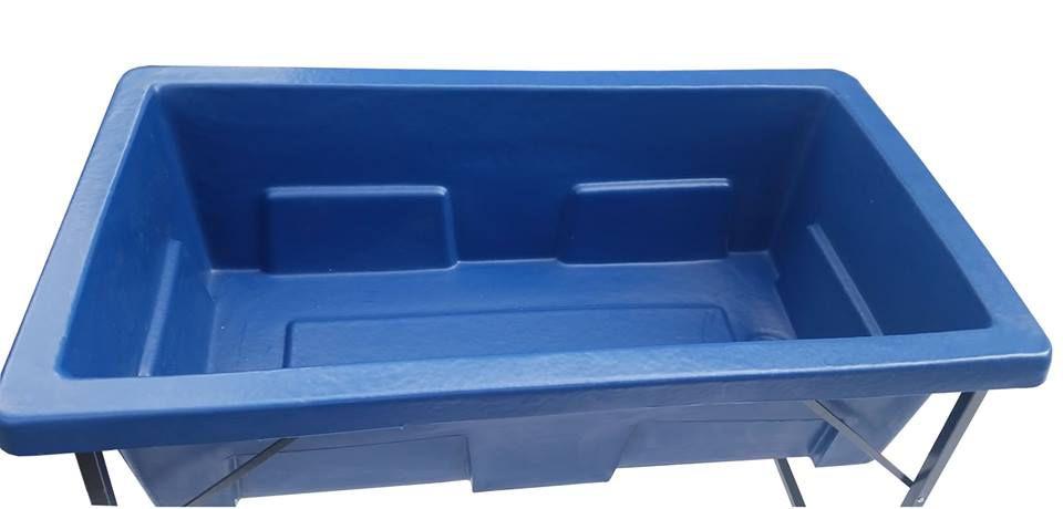 Banheira Rotomoldada em Polietileno Azul