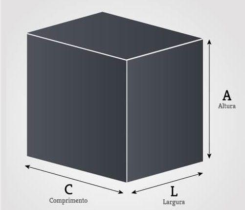 Canil Monobloco 3 Lugares 0,50 x 0,50 x 1,50m