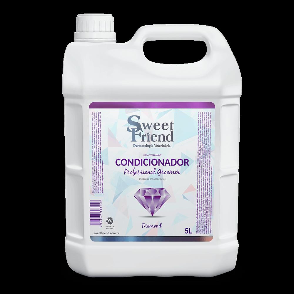Condicionador Professional Groomer Diamond – Sweet Friend - 5 Litros