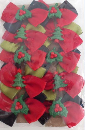 Laços Natal (com 10 unidades)