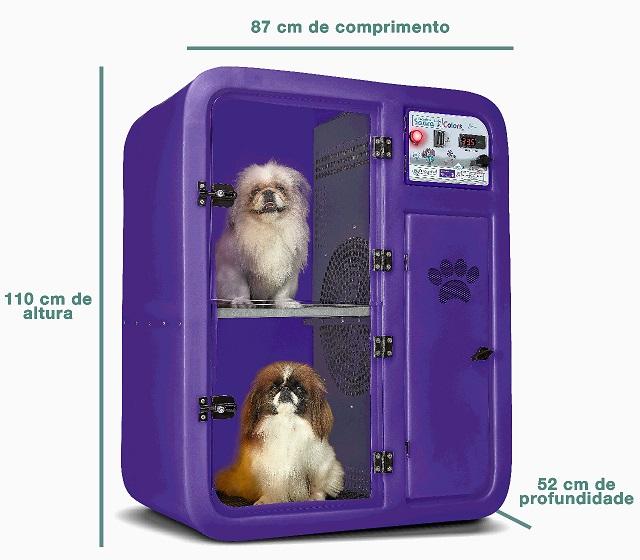 Máquina de Secar Animais OmegaPet