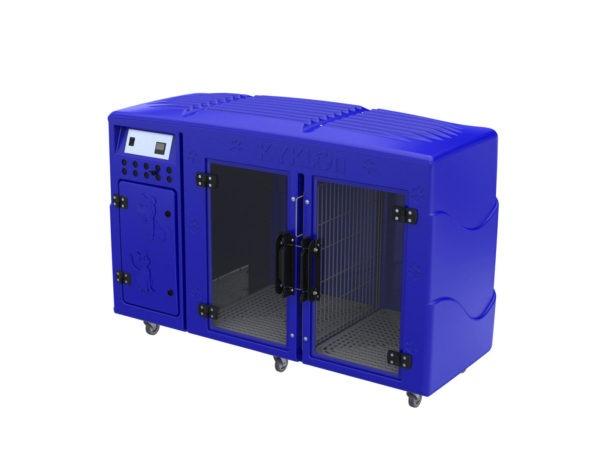 Máquina de Secar Animais Rotomoldada Kyklon Azul