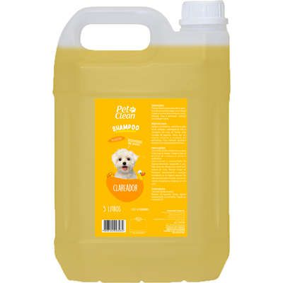 Shampoo Pet Clean Clareador para Cães e Gatos