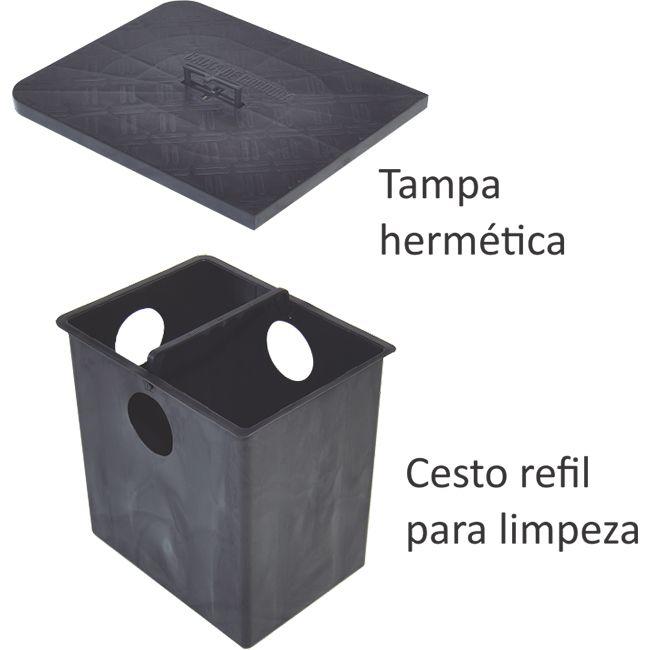 Caixa de gordura sifonada - 50 LITROS