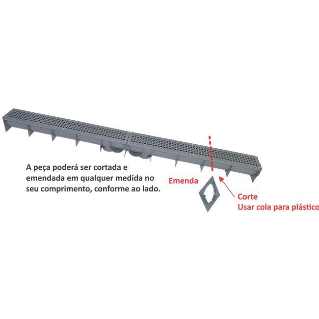 Calha p/ Piso - Mallton