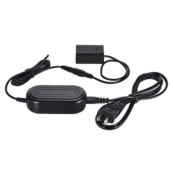 Adaptador AC-PW20 com Acoplador DC NP-FZ100 para Bateria Sony FZ100 (Bivolt)