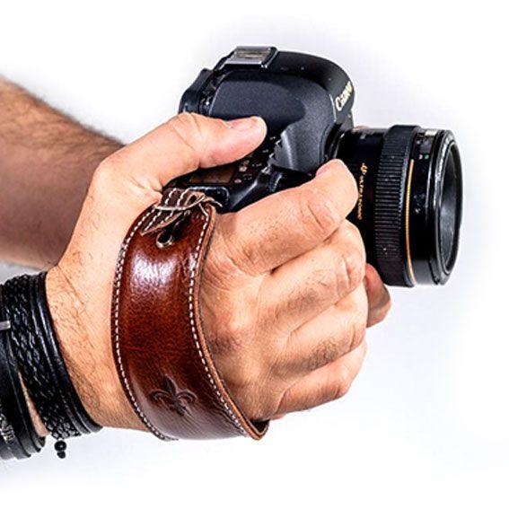Alça de Mão Hand Strap Black Hold