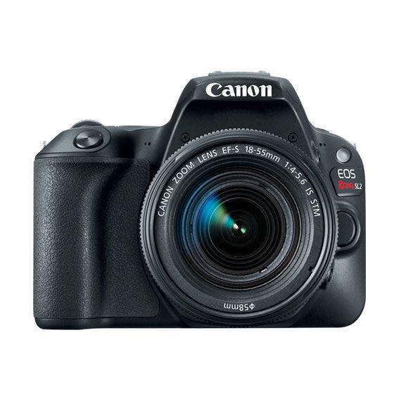 Câmera Canon EOS Rebel SL2 com Lente 18-55mm STM Kit