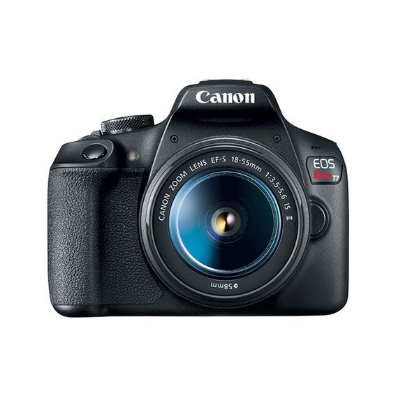 Câmera Canon EOS Rebel T7 com Lente 18-55mm STM Kit
