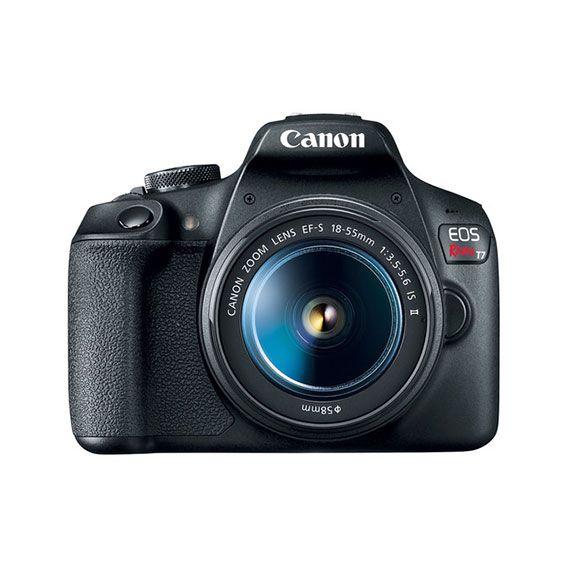 Câmera Canon EOS Rebel T7+ com Lente 18-55mm STM Kit