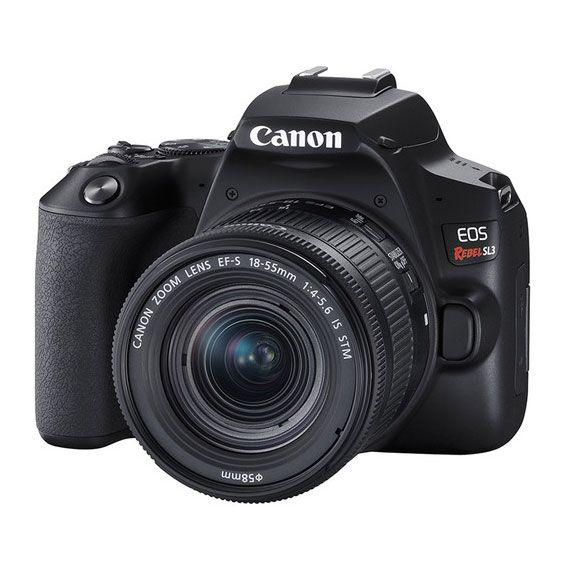 Câmera DSLR Canon EOS Rebel SL3 Kit com Lente EF-S 18-55mm STM