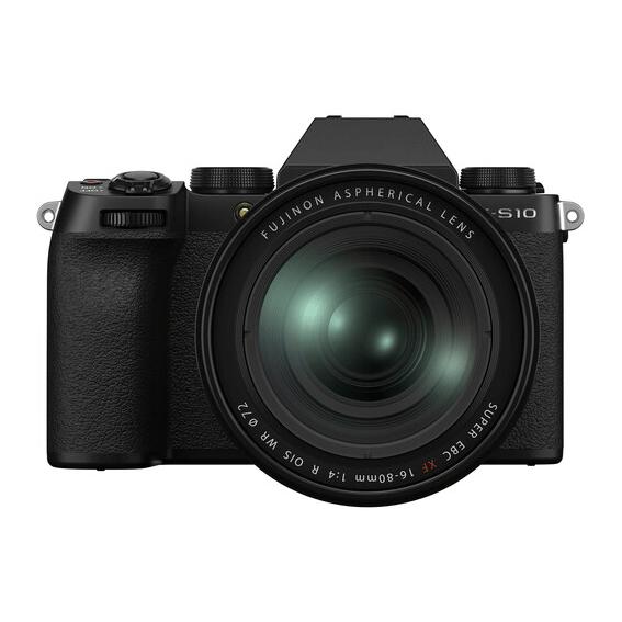 Câmera Fujifilm X-S10 com Lente XF16-80MM