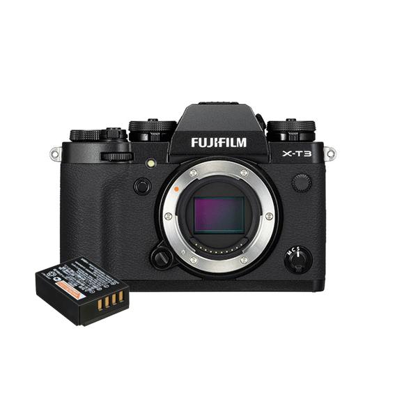 Câmera Fujifilm X-T3 Preta (somente o corpo) + Bateria Extra NP 126S