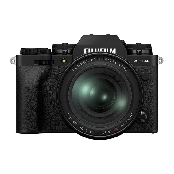 Câmera Fujifilm X-T4 Black com Lente 16-80mm