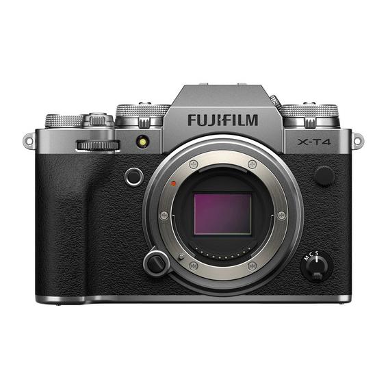 Câmera Fujifilm X-T4 Silver (Somente o corpo)