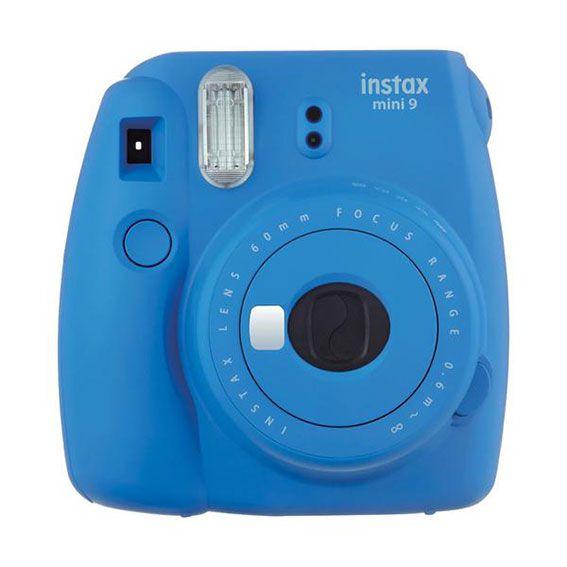 Câmera Instantânea Fujifilm Instax Mini 9 Azul Cobalto