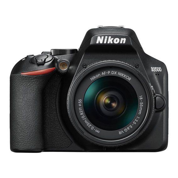 Câmera Nikon D3500 DSLR Kit com Lente AF-P DX NIKKOR 18-55mm f/3.5-5.6