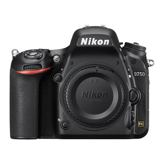 Câmera Nikon D750 (Corpo) com Recibo de Compra