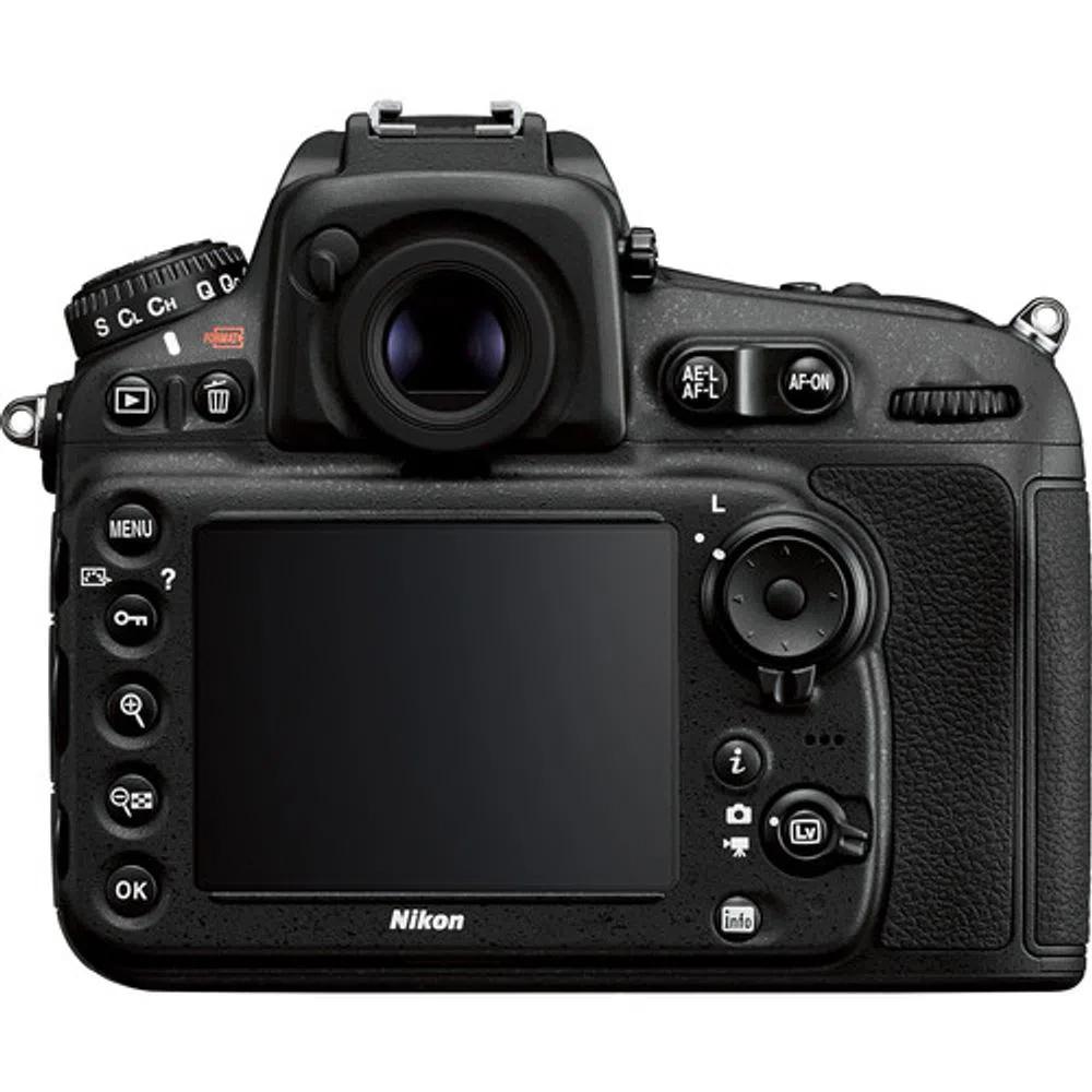 Câmera Nikon D810 (Corpo) com Recibo de Compra