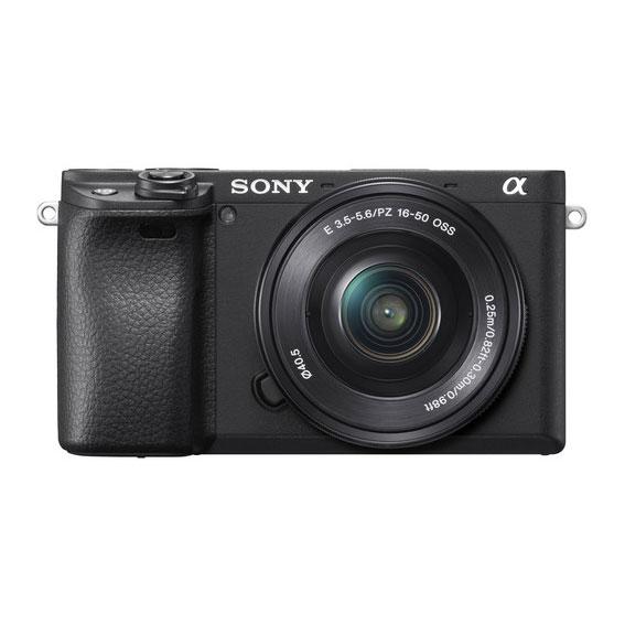 Câmera Sony a6400 APS-C com Lente 16-50mm f/3.5-5.6 OSS (SELP1650)