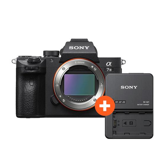 Câmera Sony A7III Full Frame (Somente o Corpo) + Carregador