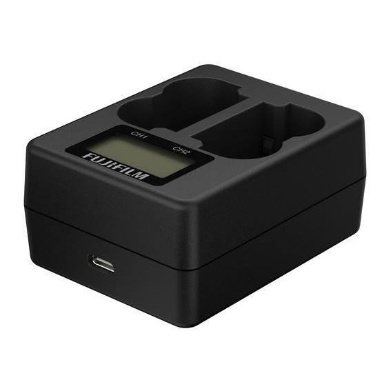 Carregador Fujifilm BC-W235 Dual para NP-W235 (Bivolt)