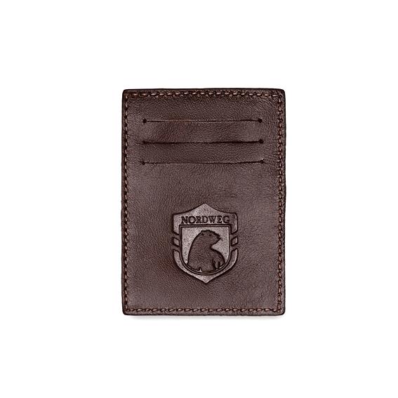 Carteira de Couro compacta Nordweg Party Wallet NW009A